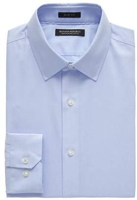 Grant Slim-Fit Non-Iron Stripe Dress Shirt