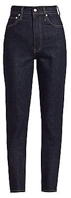 Helmut Lang Women's Spike High-Waisted Jeans