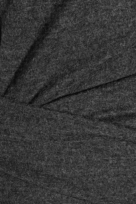 Helmut Lang Sonar asymmetric wool dress 6