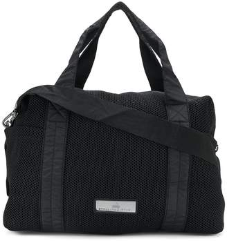 adidas by Stella McCartney mesh panel holdall
