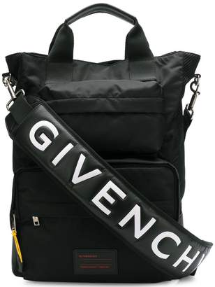 Givenchy logo strap messenger bag