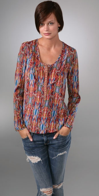 A Common Thread Embroidered Tunic