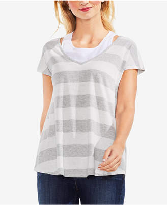 Vince Camuto Striped T-Shirt