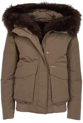 Woolrich Fur Trim Coat