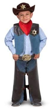 Melissa & Doug Cowboy Role Play Costume Set