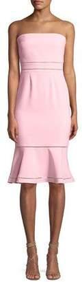 LIKELY Abbott Strapless Flounce Cocktail Dress