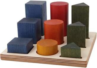 story. Wooden Rainbow Wooden XL Shape Sorter Board