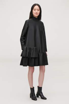 Cos MID-LENGTH A-LINE FRILL DRESS