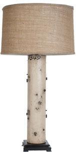 Vintage Wallpaper Lamp