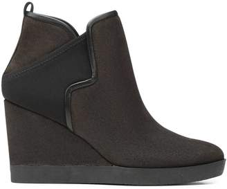 Donald J Pliner LULUU, Brushed Suede Wedge Bootie