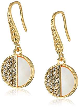 Laundry by Shelli Segal Pave Drop Earrings