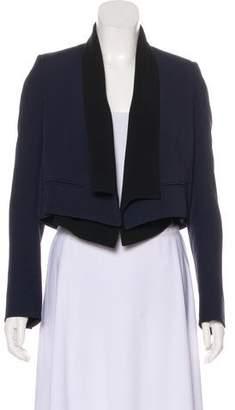 Chloé Cropped Tuxedo Blazer