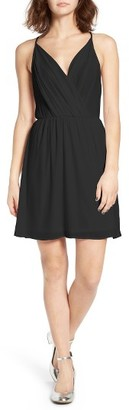 Women's Lush Surplice Camisole Dress $45 thestylecure.com
