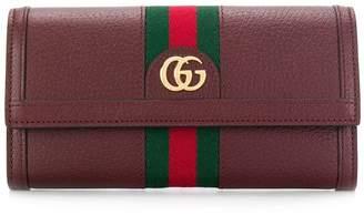 Gucci Web logo wallet