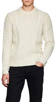 Rag & Bone Men's Trevor Aran Chunky Cable-Knit Wool-Blend Sweater
