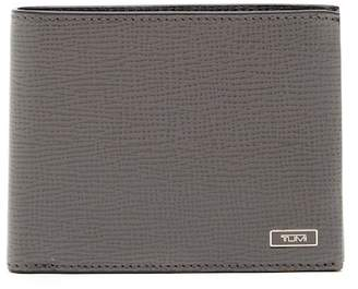 Tumi Global Double Billfold Leather Wallet