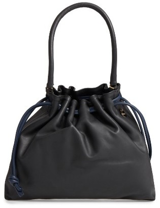 Clare V. Henri Drawstring Shoulder Bag - Black $355 thestylecure.com