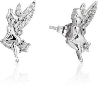 ENCHANTED .COM FINE JEWELRY BY DISNEY Enchanted Disney Fine Jewelry 1/10 CT. T.W. Genuine White Diamond Sterling Silver Butterfly Earring Set