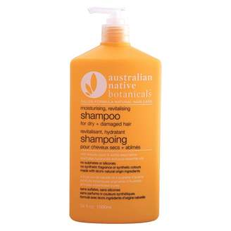 Australian Native Botanicals Moisturising, Revitalising Shampoo For Dry + Damaged Hair 1 litre