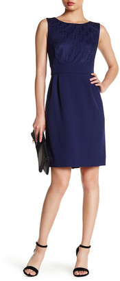 Tahari Lace Sheath Dress $128 thestylecure.com