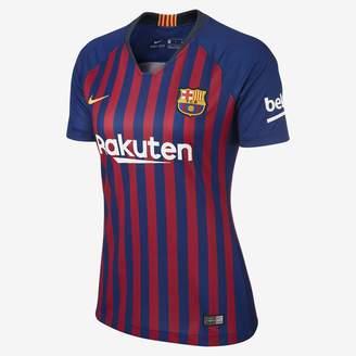 Nike 2018/19 FC Barcelona Stadium Home Women's Soccer Jersey