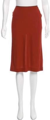 Edun Knee-Length Pencil Skirt