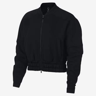 Nike Dri-FIT Women's Full-Zip Training Bomber Jacket
