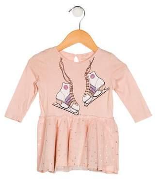 Stella McCartney Girls' Long Sleeve Tulle Dress
