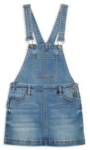 Blank NYC Girl's Happy Time Denim Overall Dress