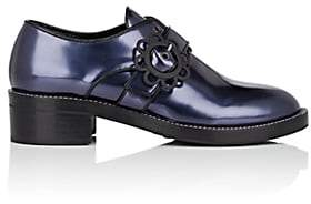 Fabrizio Viti Women's Brogue Leather Oxfords-Navy