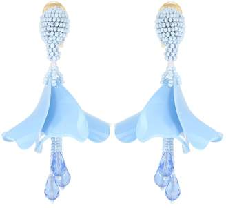 Oscar de la Renta Impatiens Mini earrings