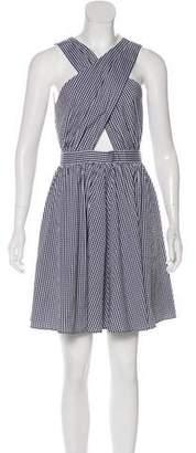 Michael Kors Gingham A-Line Dress