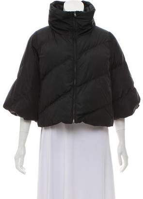 Miu Miu Cropped Down Jacket