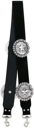 Kate Cate Regina star plaque bag strap