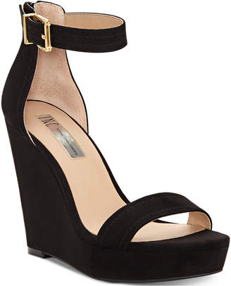 INC International Concepts I.n.c. Vidita Platform Wedge Sandals