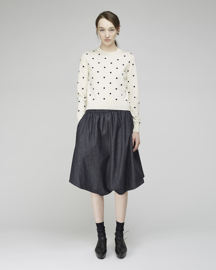 Comme des Garcons Girl dotted crewneck pullover