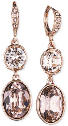 Givenchy Crystal Double Drop Earrings $48 thestylecure.com