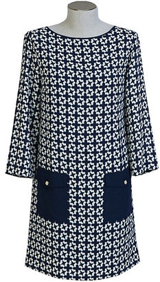 Printed Georgette Dress $89.50 thestylecure.com