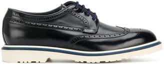 Paul Smith contrast brogue shoes