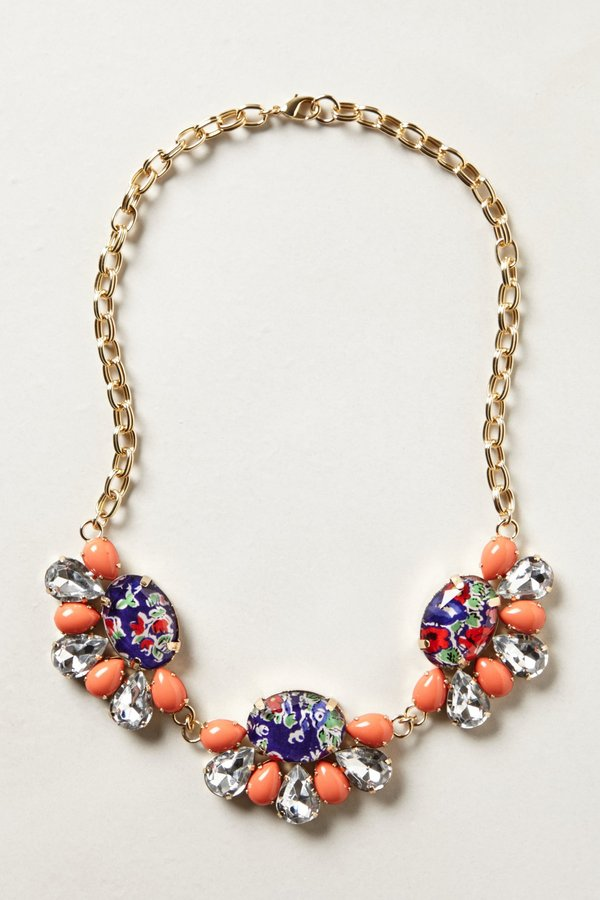 Anthropologie Coventry Bib Necklace