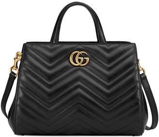 Gucci GG Marmont matelassé top handle bag