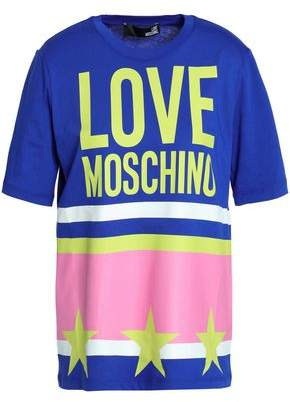 f36597b8e5 Love Moschino Printed Cotton-jersey T-shirt