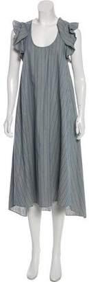 The Great Short Sleeve Midi Dress