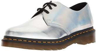 Dr. Martens Women's 1461 RS Silver Oxford