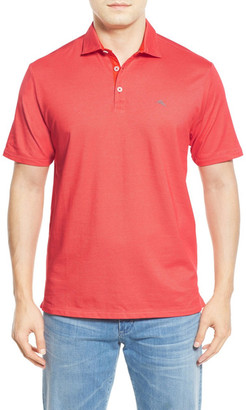 Tommy Bahama Double Eagle Spectator Pique Polo (Big & Tall) $110 thestylecure.com