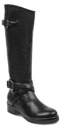 Marc Fisher LTD. Women's Round Toe Tall Motorcycle Boots