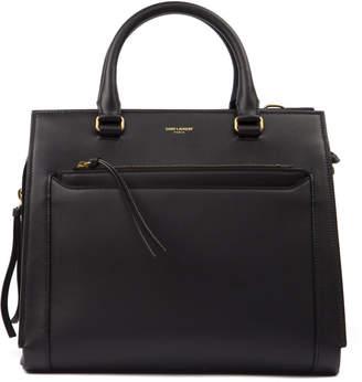 Saint Laurent Black Leather East Side Bag