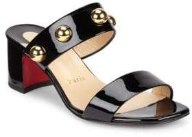 Christian Louboutin Simple Bille Leather Sandals