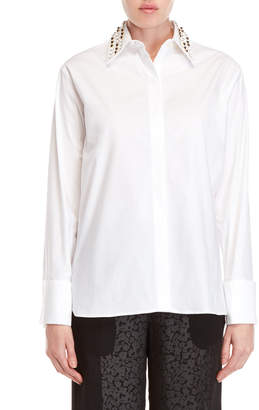 Derek Lam Embellished Collar Shirt