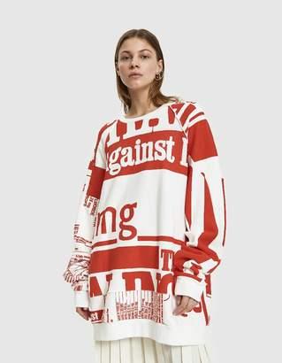Maison Margiela Vitamin Print Sweatshirt